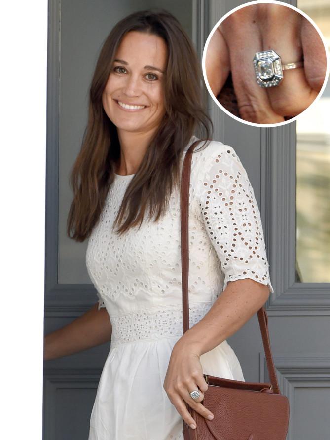 Engagement ring stars  Bling Bling! The Best Celebrity Engagement Rings Of 2016 - Posherry