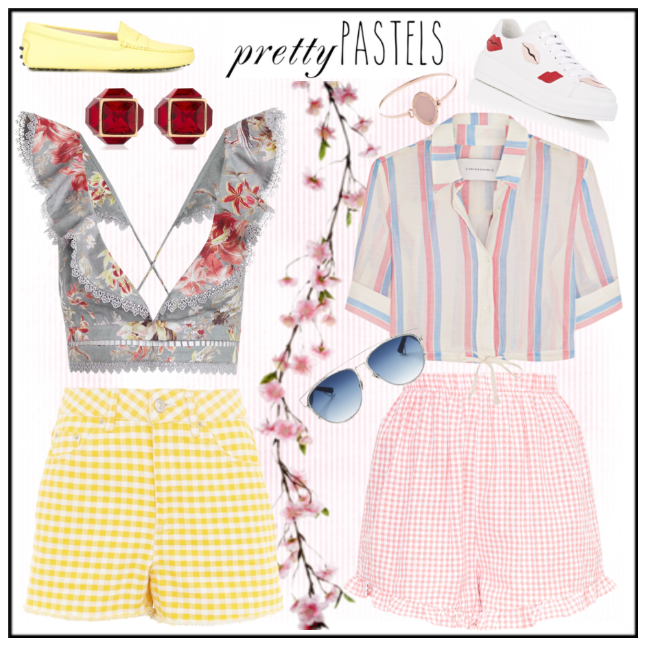 Gingham Trend - Shorts