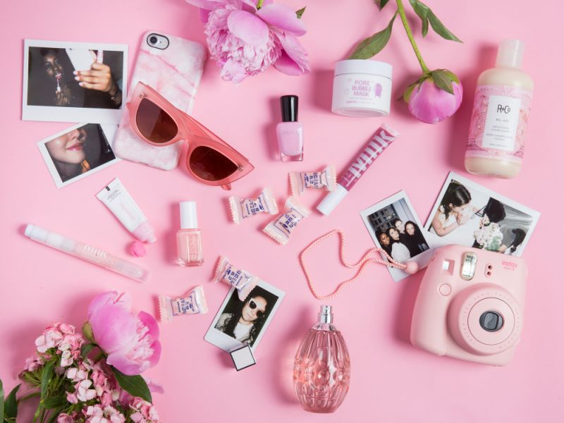 Millennial Pink - Beauty Products