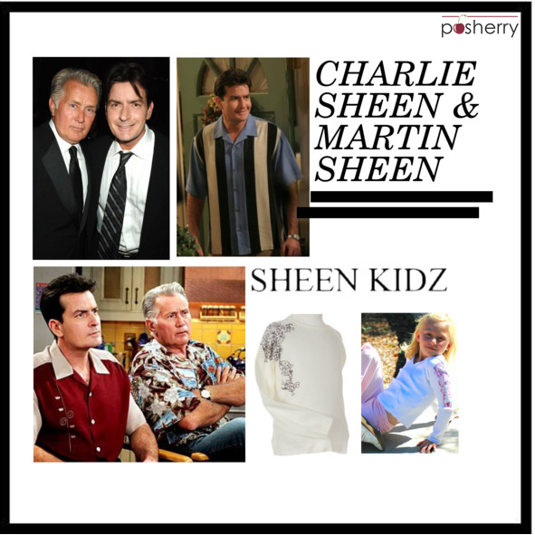 Famous Duos: Martin Sheen and Charlie Sheen