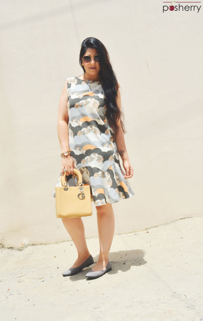 Summer Outfit Ideas: Clouds & Florals-A London Summer Print