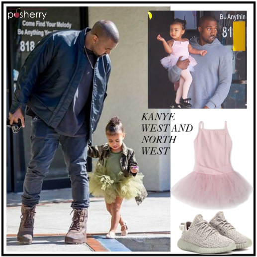 Famous Duos: Kanye West and North West