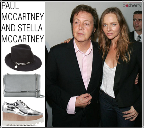 Famous Duos: Paul McCartney and Stella McCartney
