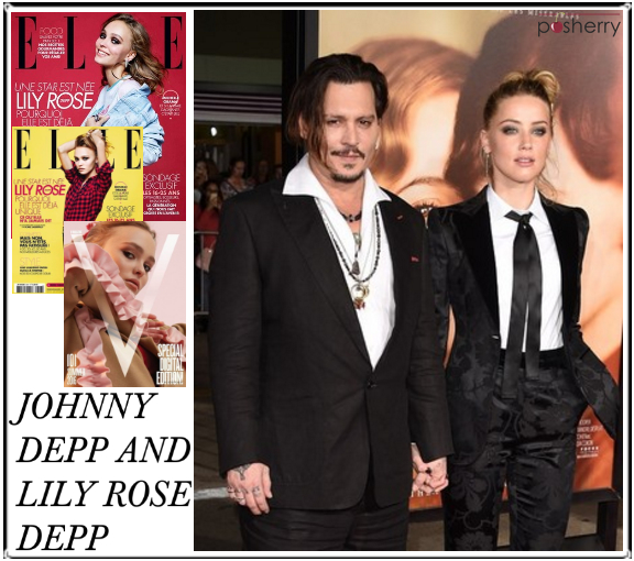 Famous Duos: Johnny Depp and Lily Rose Depp