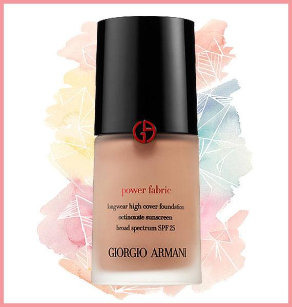Best foundation for oily skin - Giorgio Armani
