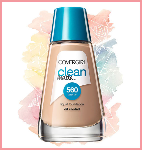 Best foundation for oily skin - CoverGirl