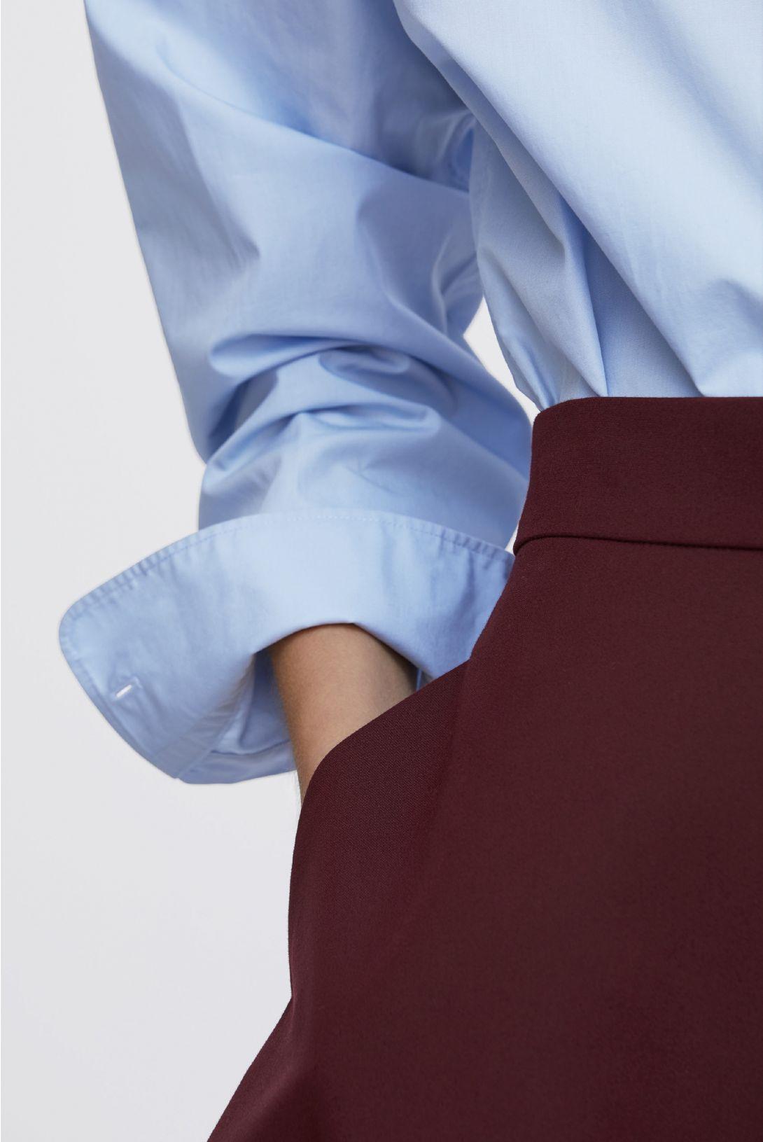 Arket H&M: Burgundy and blue