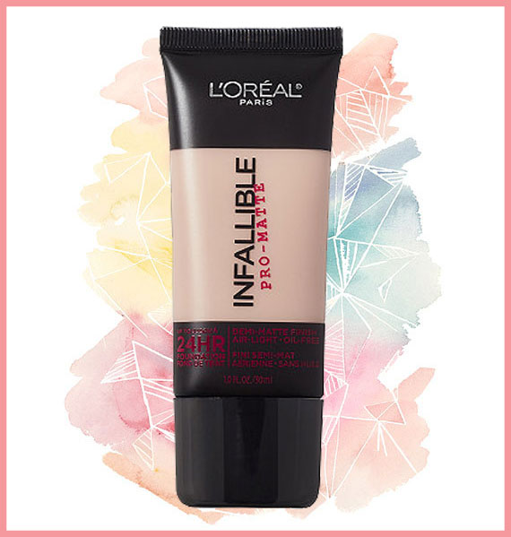 Best foundation for oily skin - L'Oreal