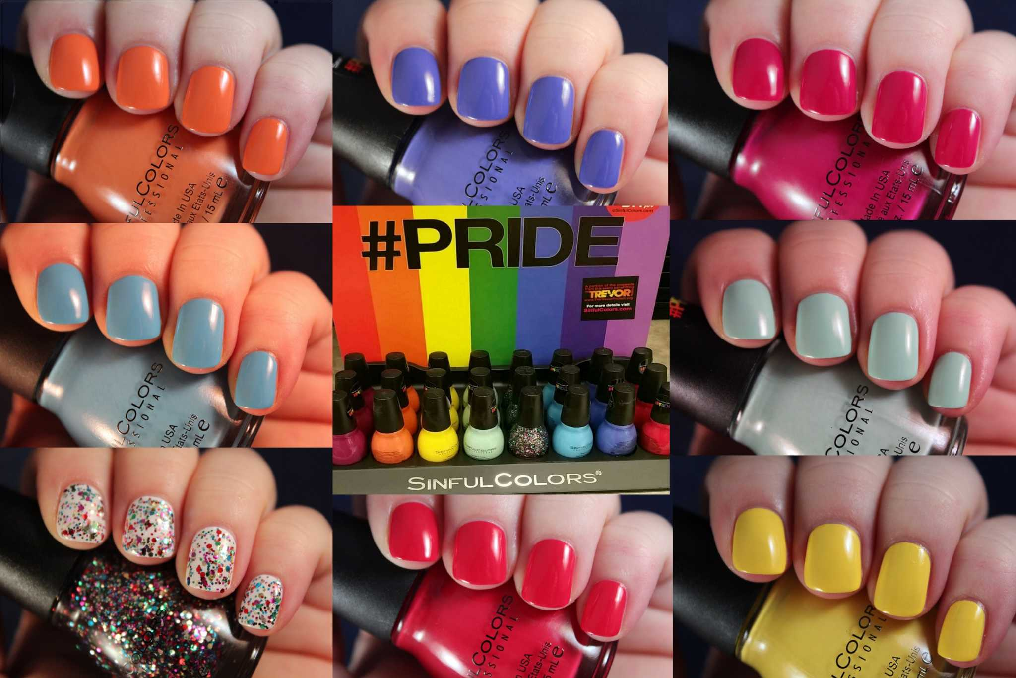 Pride Month - Sinful Colors