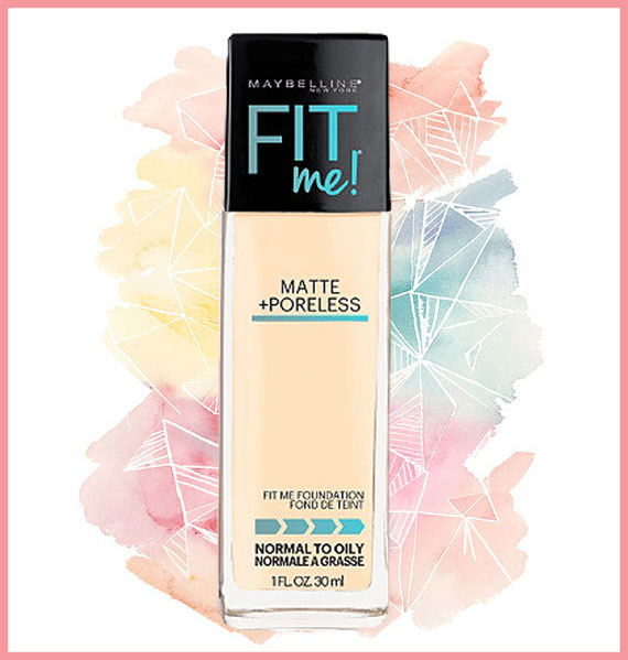 Best foundation for oily skin - Maybelline