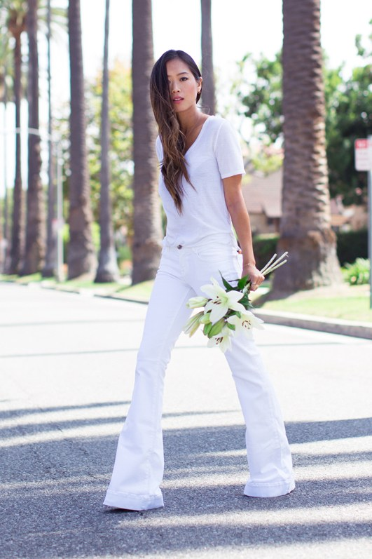 Song of style - White Jeans Outfit Ideas