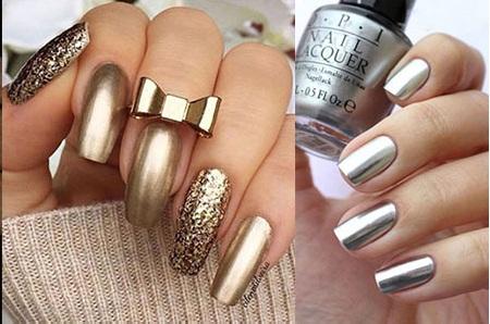 Summer Nail Colors -Metallic