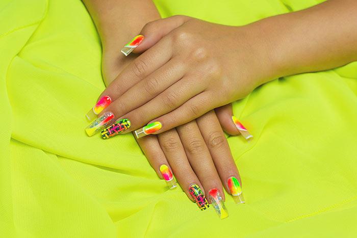 Summer Nail Colors-Neon