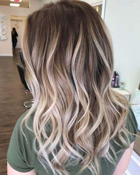 Hair tips - Balayage highlights