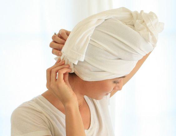Hair Tips - Dry Towel