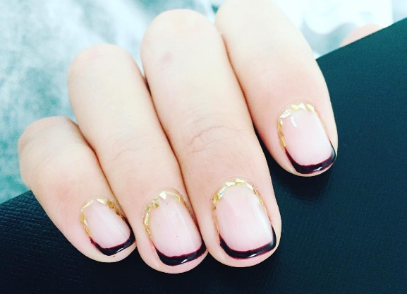 Summer Nail Colors Trend From Runway-Embellished Cuticles