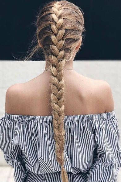 Hair tips - French Braid