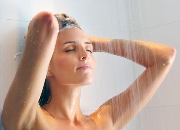 Hair Tips - Avoid Hot Water Bath