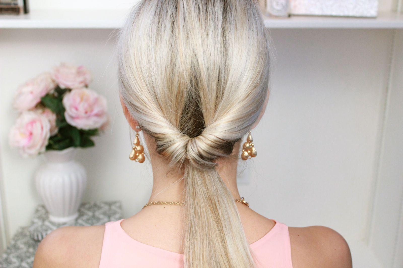 Hair tips - Looped Ponytail