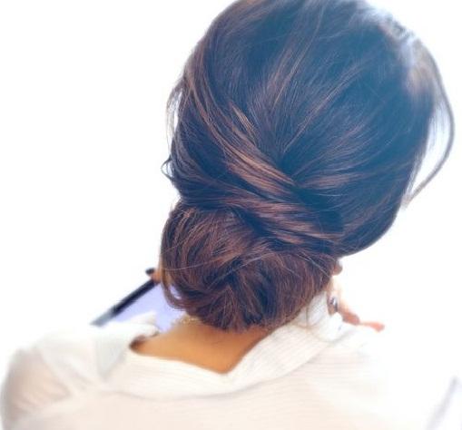 Hair tips -Low bun