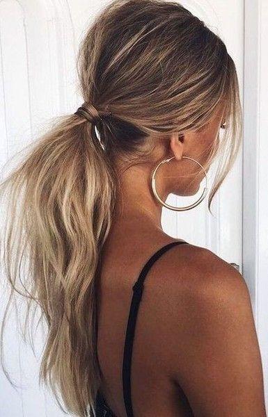 Hair tips - Low Ponytail