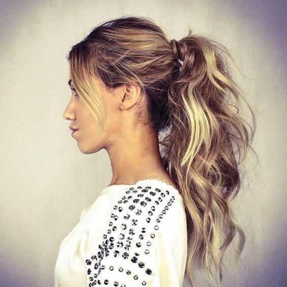 Hair tips - Messy Ponytail