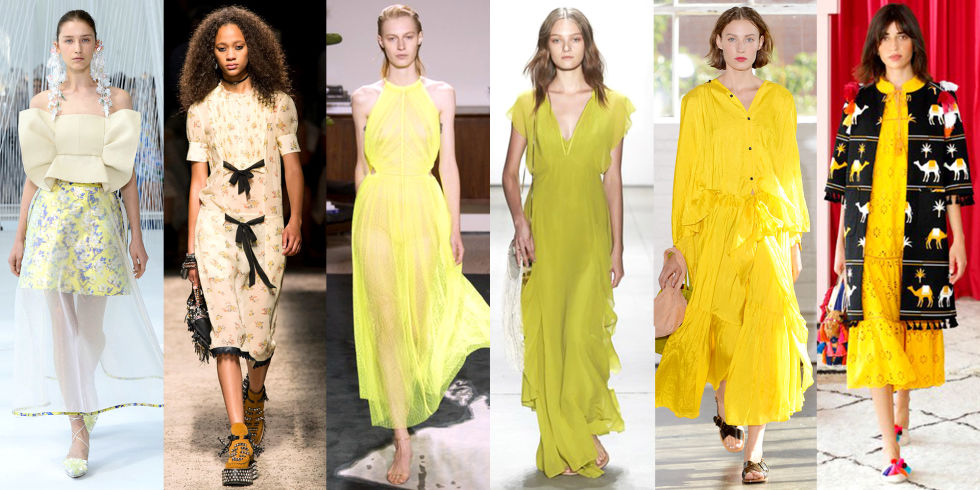 Spring Summer Trends -Dare To Yellow