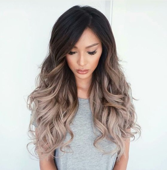 Hair tips -Ombre highlights