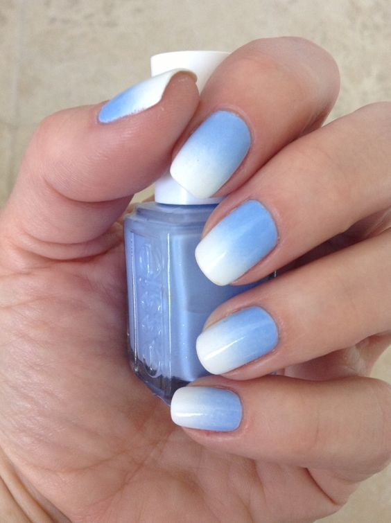 Summer Nail Colors Trend-Ombre