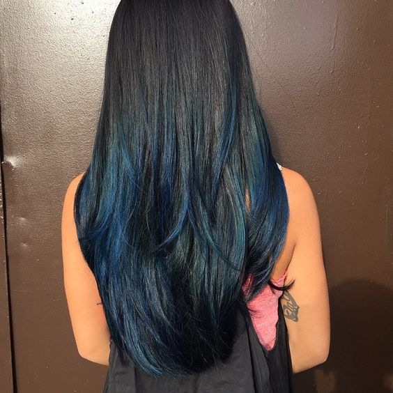 Hair tips - Peek A Boo Highlights