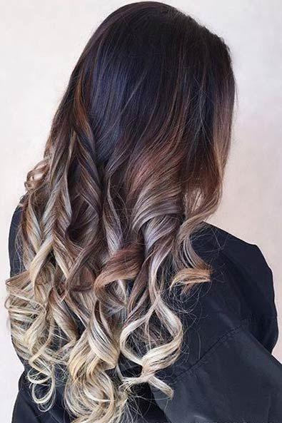 Hair tips - Textured highlights
