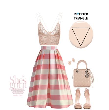 Cute Summer Outfits-Inverted Triangle Body Type