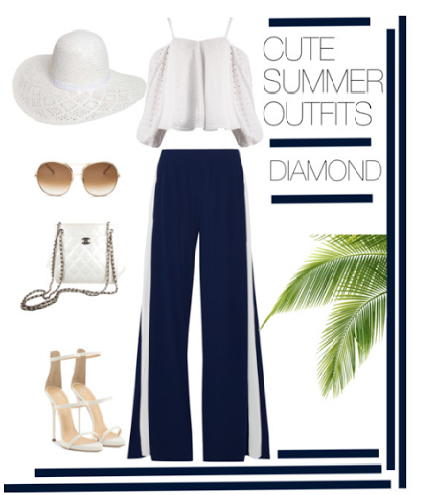 Cute Summer Outfits-Diamond Body Type