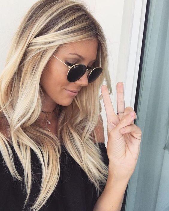 Hair tips - Chunky highlights