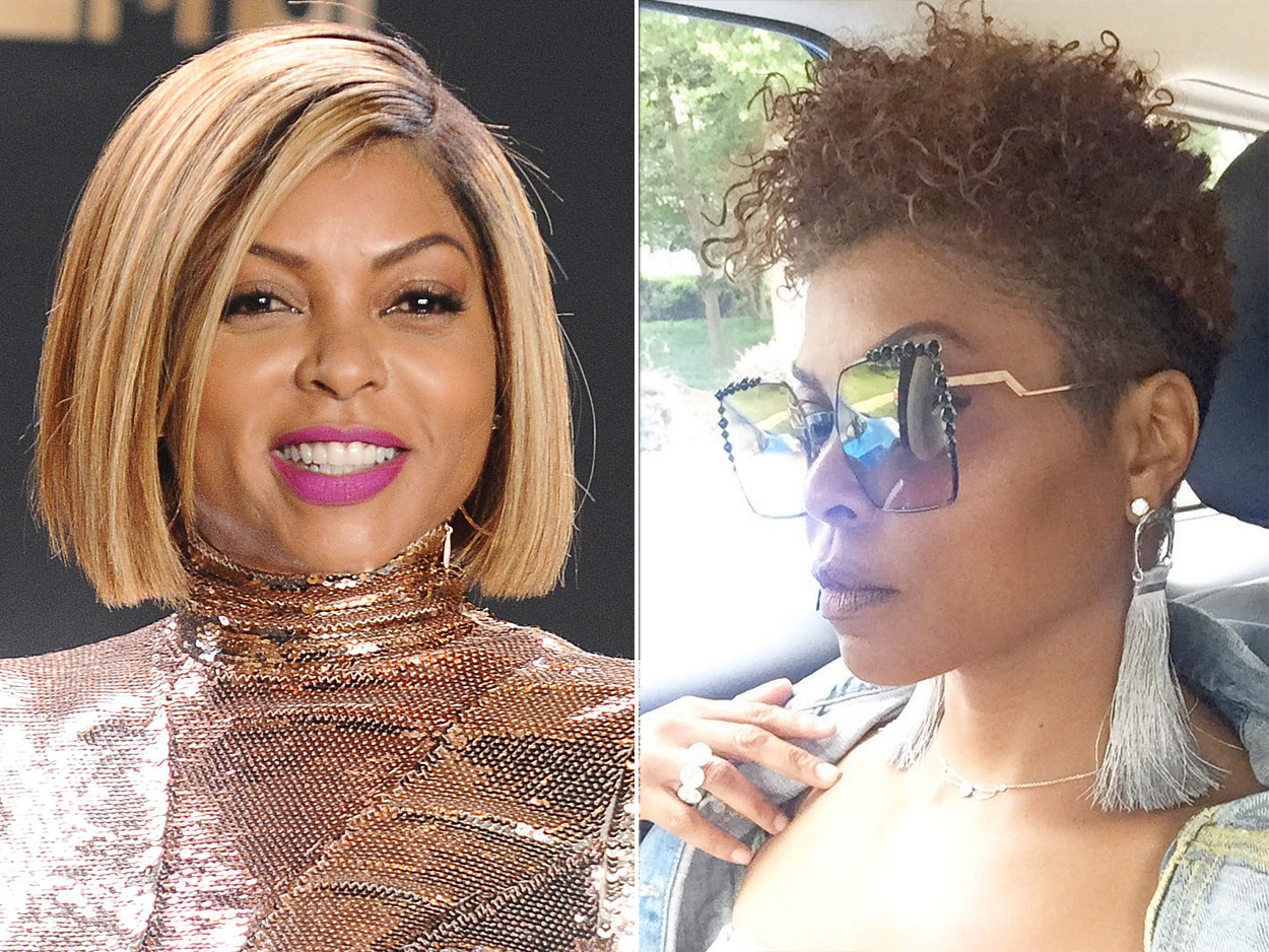 Hair tips- Celebrity hair transformation of Taraji P. Henderson